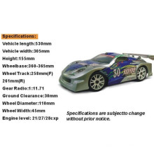 Hsp 94086 1/8th Scale Nitro on Road Rally Racing Car