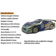 Hsp 94086 1 / 8ème Scale Nitro sur Route Rally Racing Car