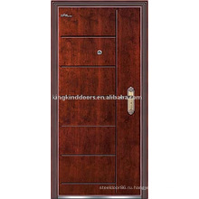 Бронированные двери (JKD-218) надежной безопасности и стали деревянные наружные двери