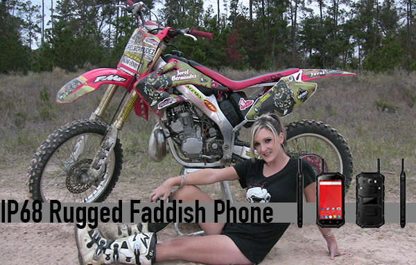 IP68 Rugged Faddish Phone