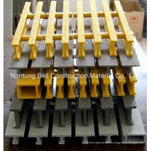 Rejillas Pultrusionadas FRP / GRP, I-40125, 32 * 15 * 25 * 10mm, Rejilla, Rejilla de fibra de vidrio.