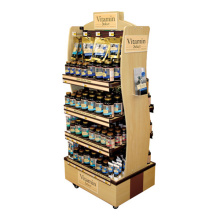 Freistehendes Vitamin Display Stand Retail Store Display