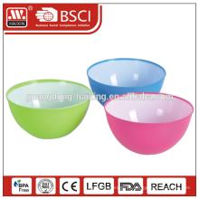 Mejor venta de productos de 2015 fruta tazón de fuente plástico
