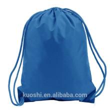 personalized waterproof plastic drawstring bag