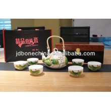 Японская китайская антикварная и ретро-утварь для украшения керамических фарфоровых чашек и блюдцев наборы для кофе и чая