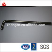 Boulon L en acier inoxydable M6 304