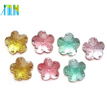 DIY jewelry accessories frost surface resin stone beads
