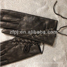 Frauen Niet Lederband zurück Handschuh