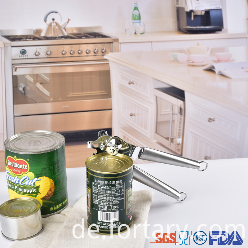 Stainless steel Tin Opener Manual