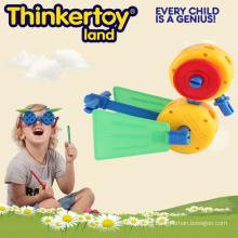 Bloque de construcción para niños creativo pato
