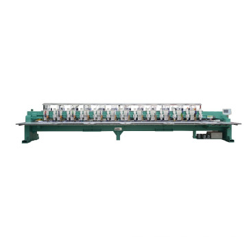 12 head High speed flat +taping+sequins embroidery machine