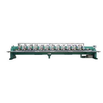 12 головок Высокоскоростная плоскошлифовальная машина + вышивальная машина с блестками