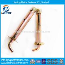 Chine Fournisseur En stock Fixateur en acier inoxydable Fabricant J Type expansion boulon
