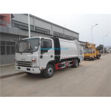 JAC 4x2 5CBM Camions à ordures à déchets de compression Prix