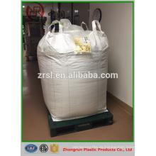 ISO9001 1ton -2ton FIBC bulk bag pp big bag pp embalaje enorme para concentrado de cemento de carbón concentrado