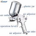 Pistola de pulverización de agua de lavado de coches por gravedad de alta calidad W-71G