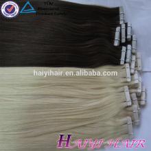 A melhor venda de Ali do fornecedor do ouro do ponto de grosso possui a extensão do cabelo da fita do tipo