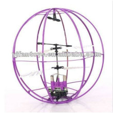 Jouets d'extérieur 2CH RC Space Flying Ball 6041B RC Flying UFO Toys with Price