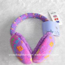 Plush Ear Muff Knitted Warmer Cashmere Earmuff
