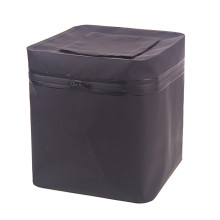 Black PVC Square Fishing Bucket Waterproof Dry Barrel (YKY7303)