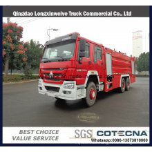 Sinotruk 8000L Water&Foam Tanker Fire Truck