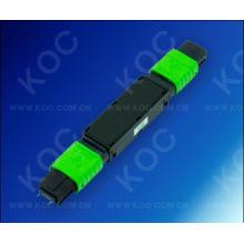 Atenuador de fibra óptica MPO para transmisión de alta densidad