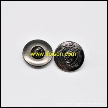 Кнопка металлическая хвостовик с череп Parttern