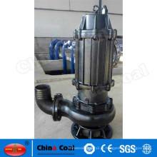 150ZJQ600-15-55kw submersível bomba de desaguamento bomba de chorume centrífuga vertical