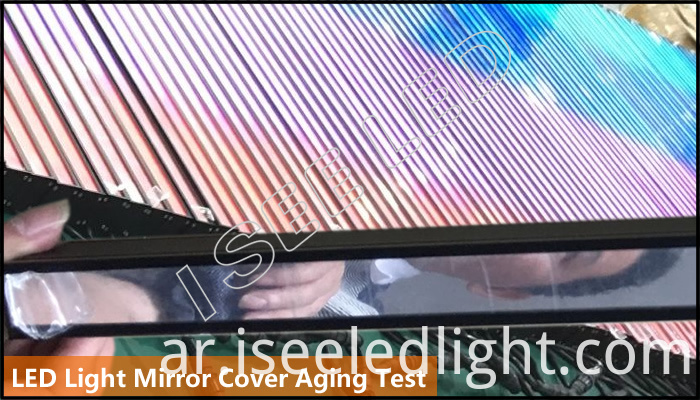Mirror LED Light Digital Controllable aging test