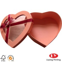 Heart shaped sweet paper gift chocolate box