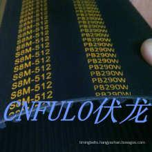 Industrial Timing Belt, Single Sided Timing Belt, Rubber Belt (S8M-512)