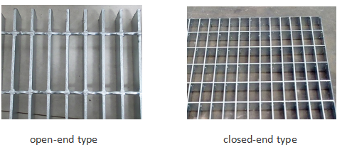 Open End Galvanzied Steel Grating