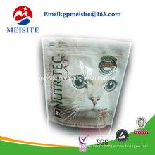 Высококачественный Doypack Zipper Пластиковый мешок для пищевых продуктов для домашних животных