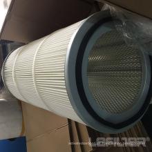 Filtro de pó plissado filtro de poliéster