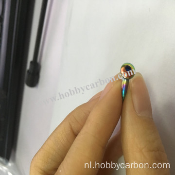 M3x12mm Rainbow Stainless Steel Knopkopschroeven