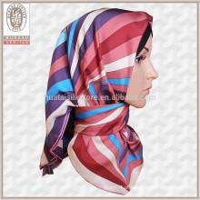 Novo Estilo Atacado Hijab Turco Cachecóis Silk Hijab