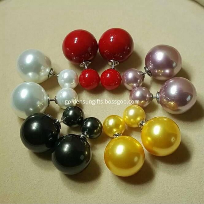 Colorful Shell Pearl Earrings