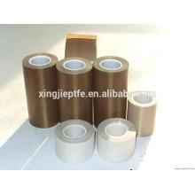 0,13mm 20mm * 10m Antihaft-PTFE-beschichtetes Glasfasergewebe Klebebandband