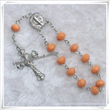 Glass Beads One Decade Rosary, Jewelry Decade Rosary, Rosary Beads (IO-CE069)