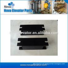 Componente do elevador, carga máxima 6000kg, dureza 65-75, almofada anti-vibração para a cabine