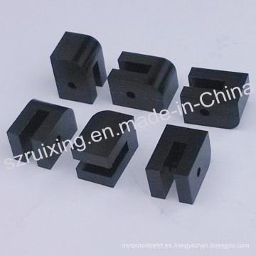 Máquina de coser de la aguja del CNC Delrin de la CNC Pieza de repuesto de las piezas de POM