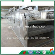 China Máquina de secado de cebolla, secador de aire caliente para frutas y verduras