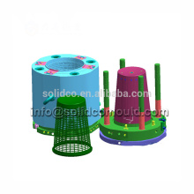 Chinese wholesale suppliers hot sale pedal trash bin mold