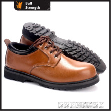 Goodyear Welted Rubber Office Working Shoe with Nubuck Leather (SN5391)