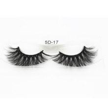 5D Mink Eyelashes 100% Fur Material Lashes Hand Made Eyelash 5D-17
