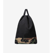 Custom drawstring camouflage backpack college backpack