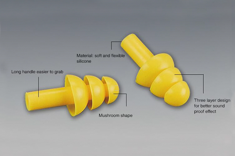 Safety Silicon Earplug