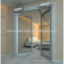 Porta de Balanço Automática (Abertura Dupla)