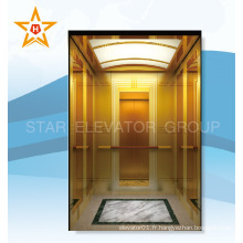 Ascenseur de passagers qualifié luxueux pour un rumeur rituel