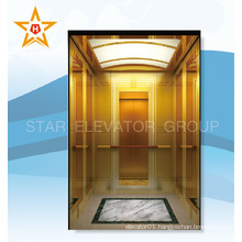 Machine Room Less Passenger Elevator With Luxury Decoration Cabin                                                                         Quality Choice